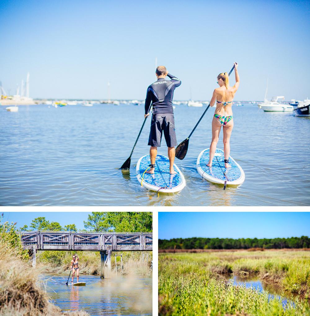 Les prés salés en stand up paddle
