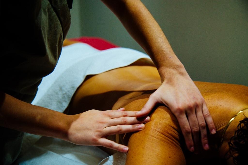 Massage au domaine du ferret