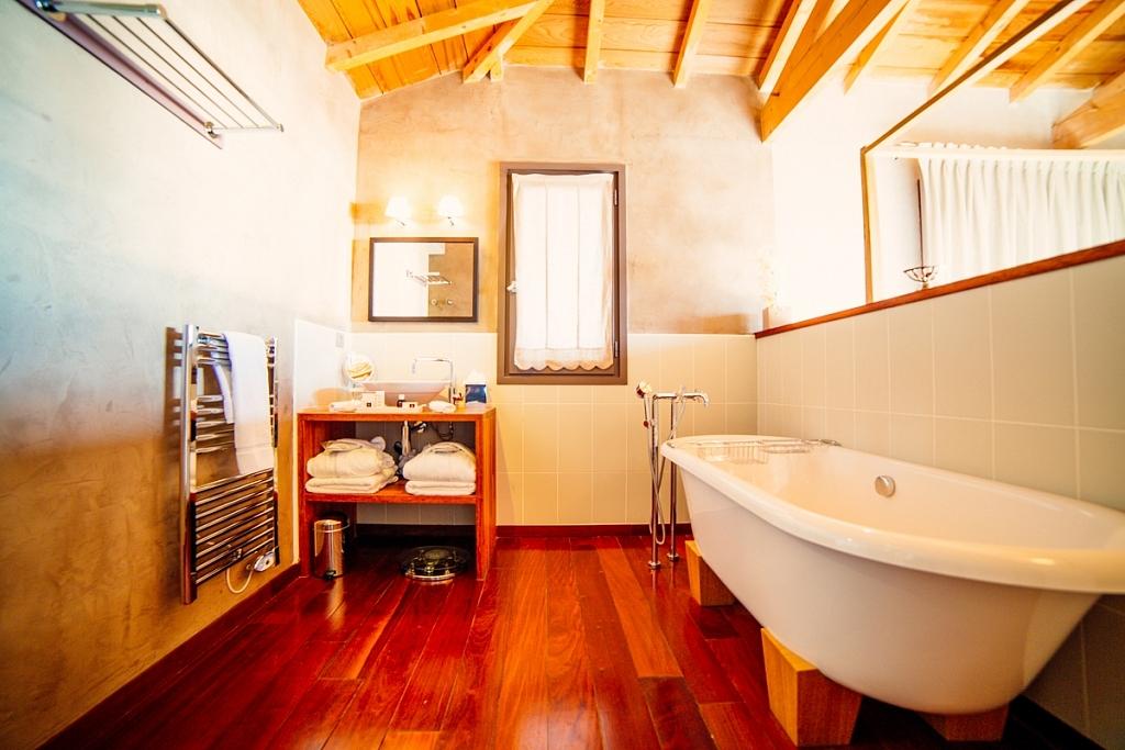Hotel côté sable salle de bain