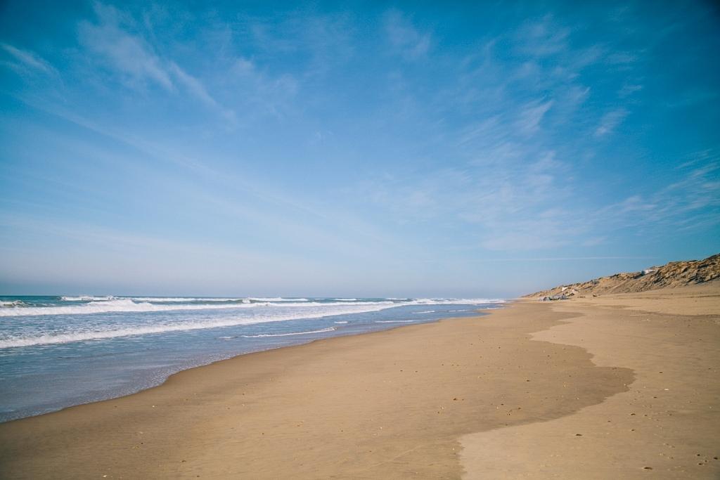 plage de l'horizon printemps