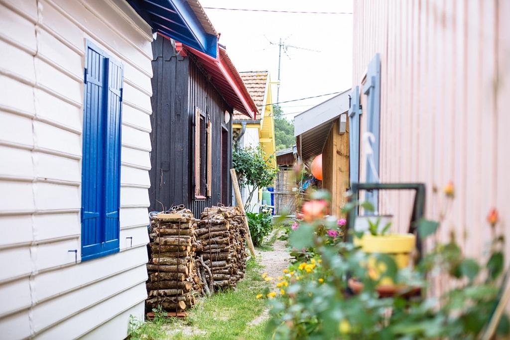 Balade dans le village de Grand Piquey