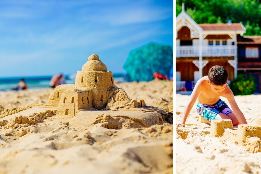Faire le plus beau des châteaux de sable