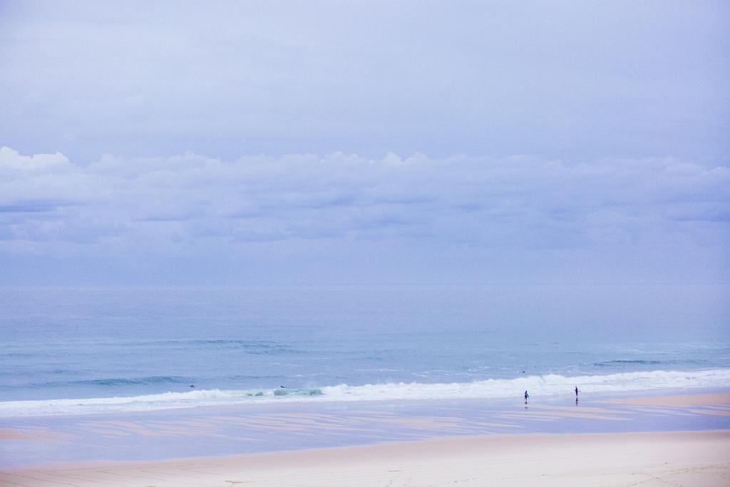 plage du Grand Crohot au petit matin