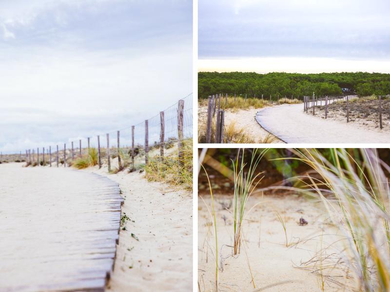 Direction la plage du Grand Crohot en matinée