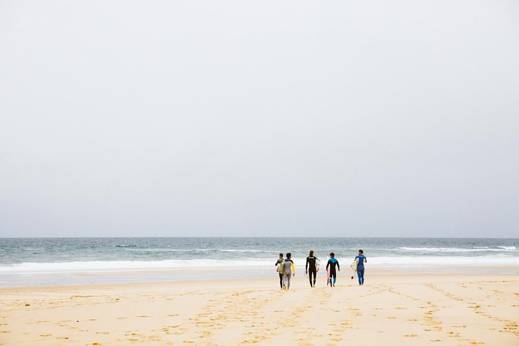 Surf à la plage du Grand Crohot