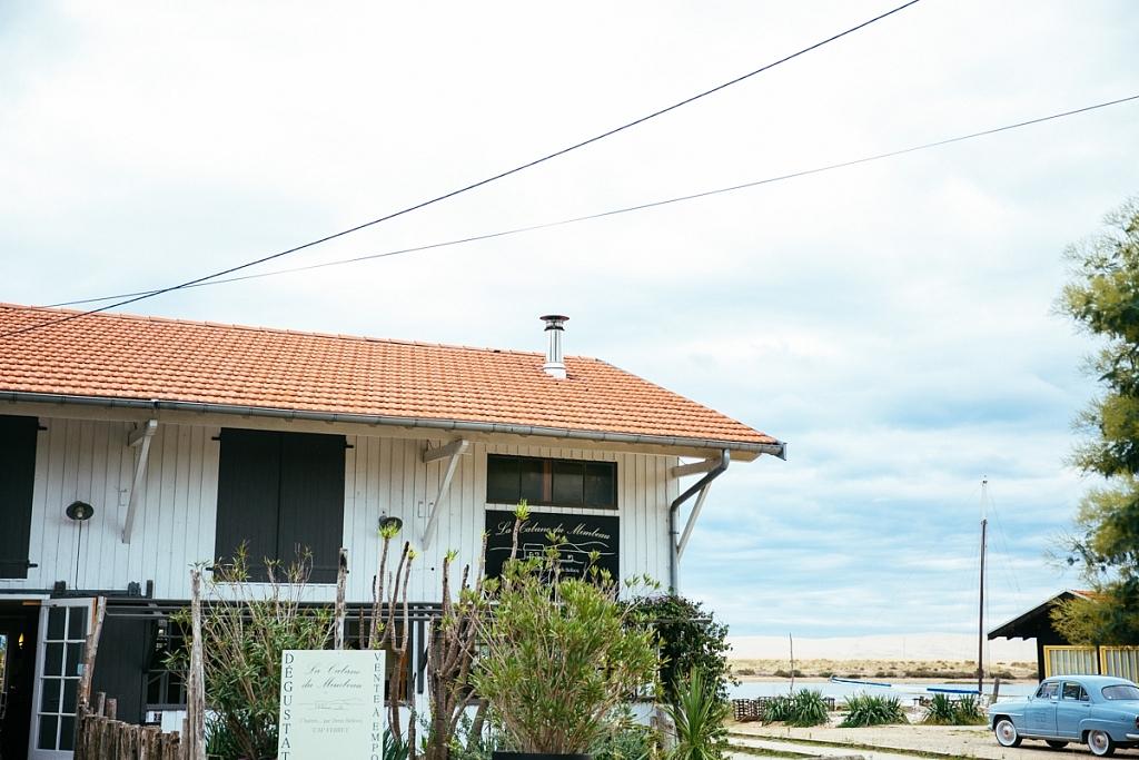 cabane à huitres du Mimbeau