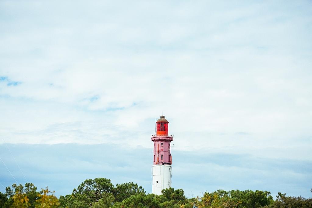 le phare du Cap Ferret en automne