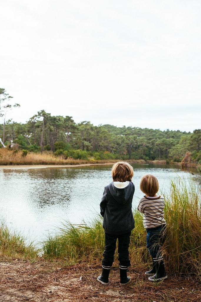 Réservoirs de Piraillan à l'automne