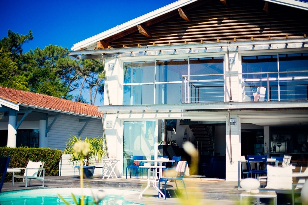 la Villa Etche Ona à Grand Piquey