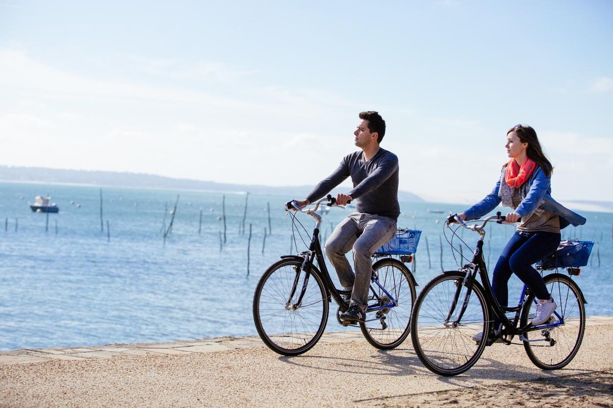 Balade à vélo au village de l'Herbe