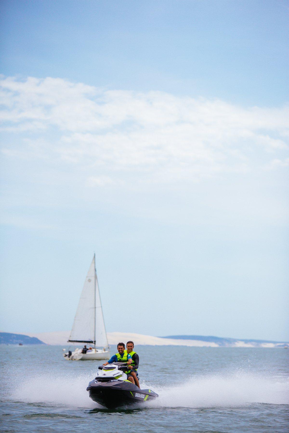 Jet Ski à Lège Cap Ferret
