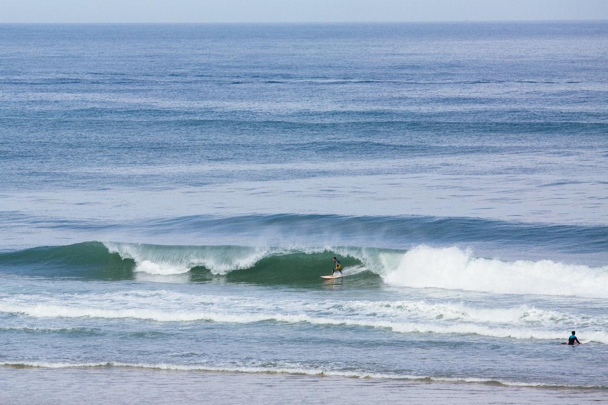 Surf à la plage du Truc Vert
