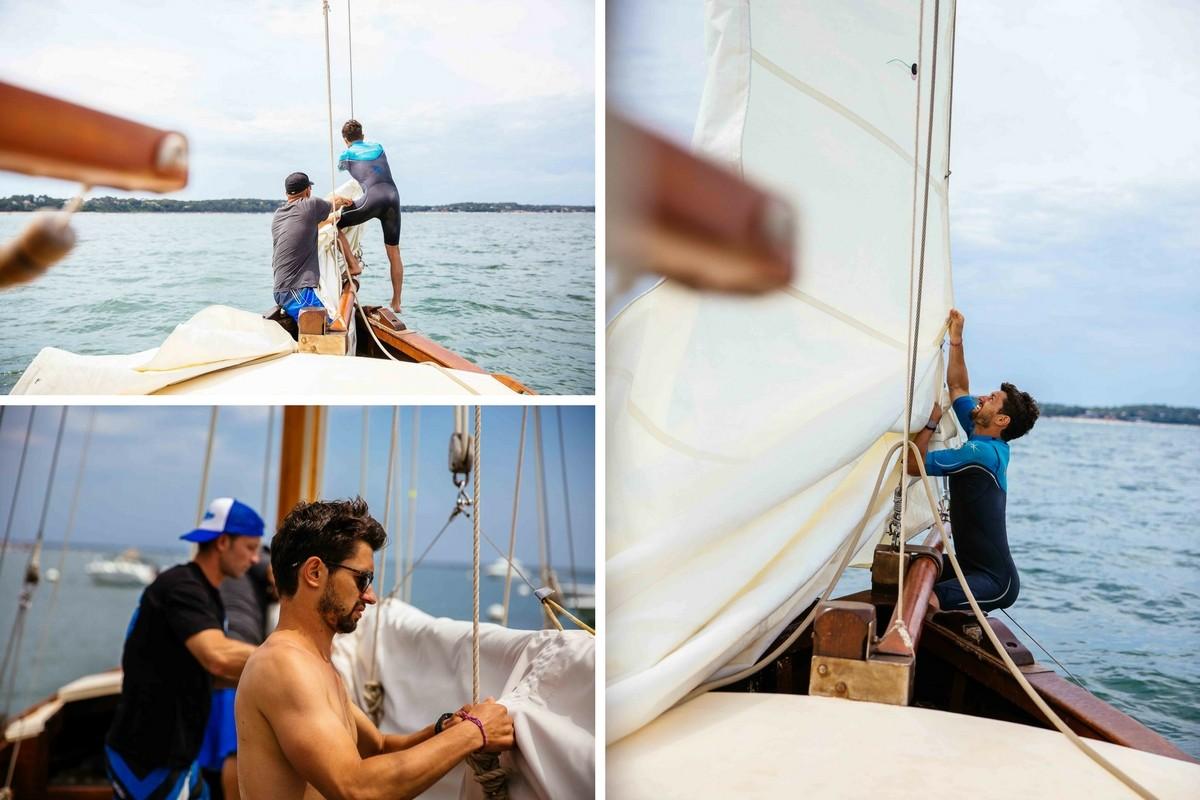 Une journée à jouer les marins en voilier sur le Bassin d'Arcachon