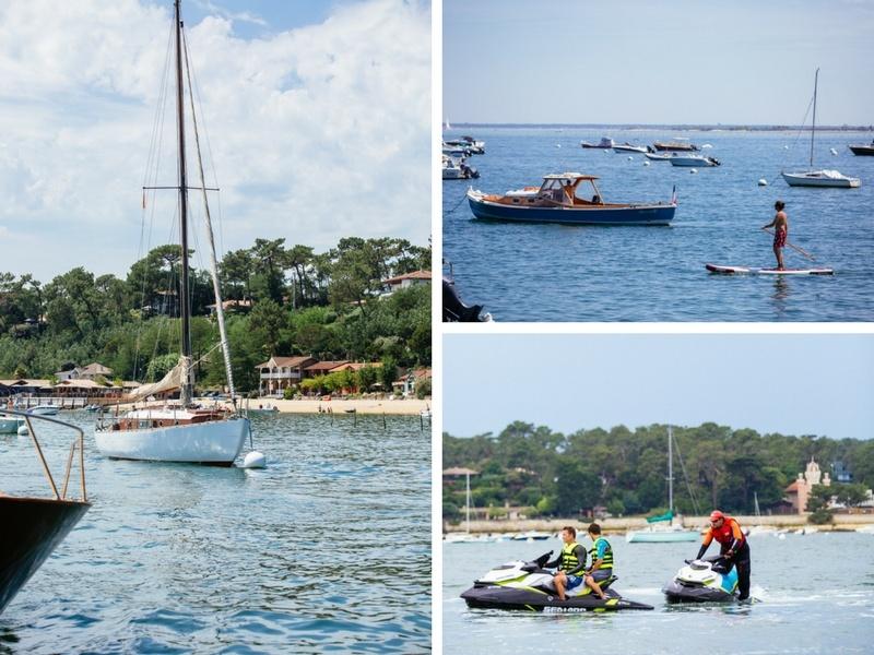 Vacances sur les eaux du Bassin d'Arcachon