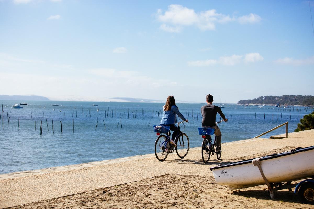 Vélo pour les vacances à Lège Cap Ferret