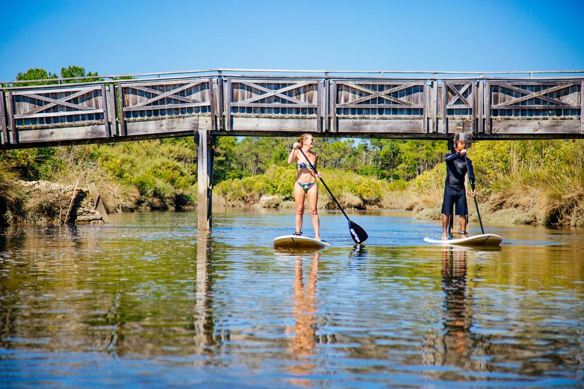 Stand Up Paddle à Lège Cap Ferret
