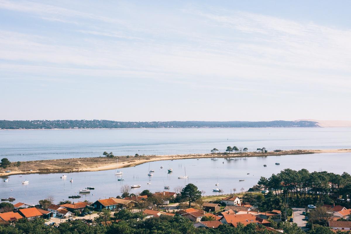 panorama phare du cap ferret vue