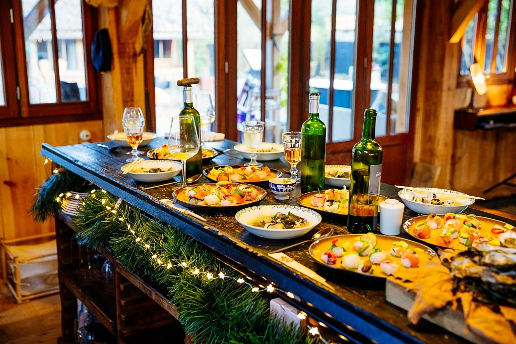 La table de Noël au Cap Ferret