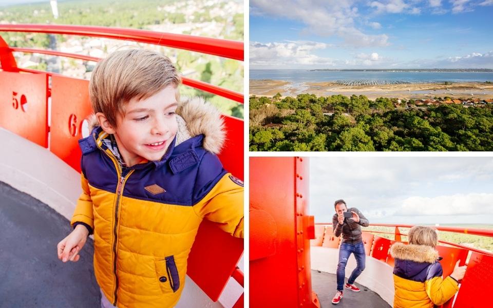 Souvenirs d'enfance au phare du Cap Ferret