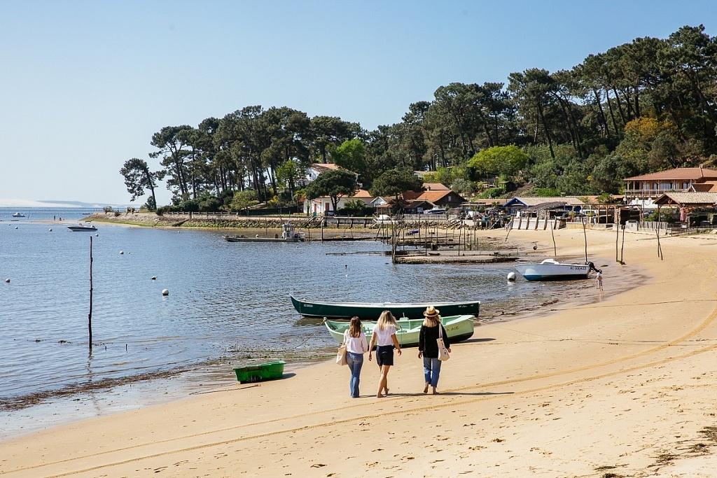 balade plage bassin arcachon