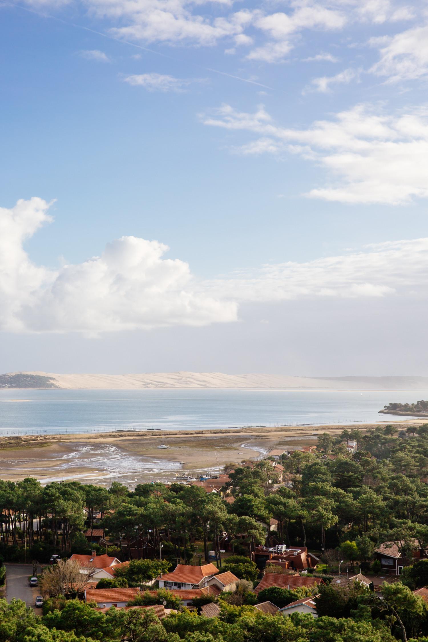 Vue phare du Cap Ferret