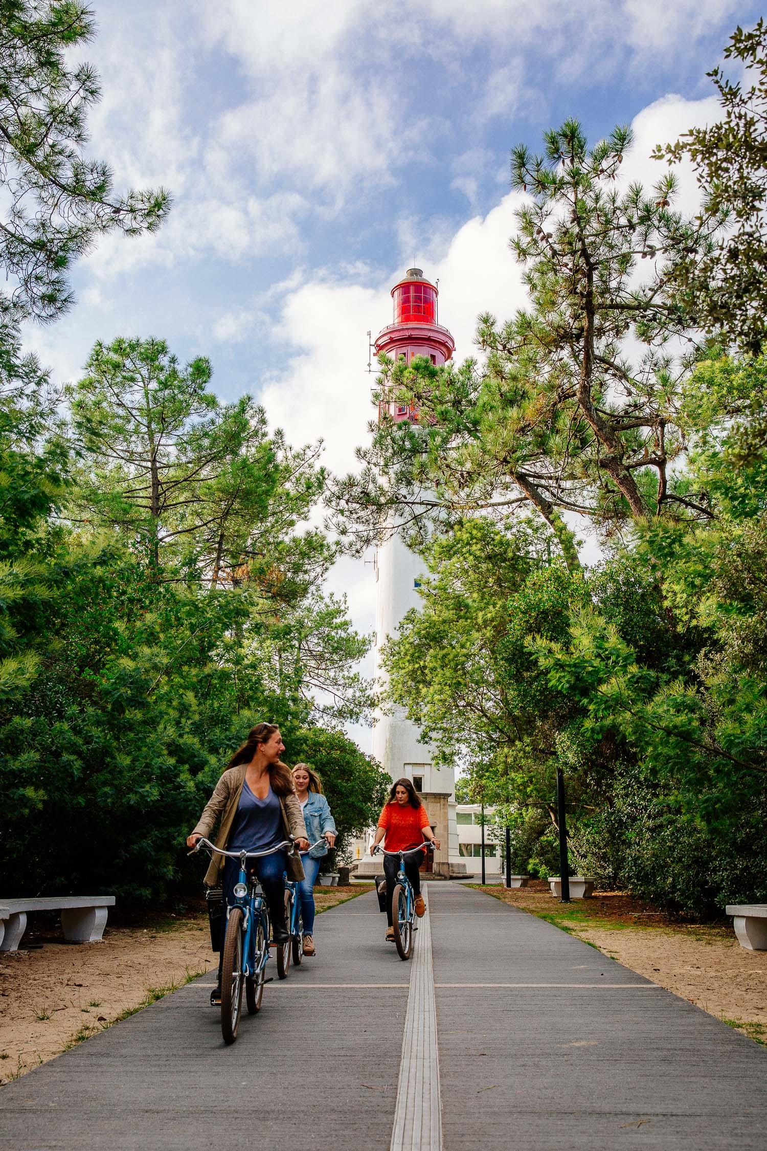 Vélo phare du Cap Ferret