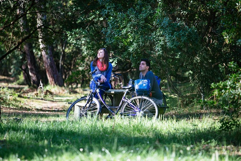 Balade vélo en couple