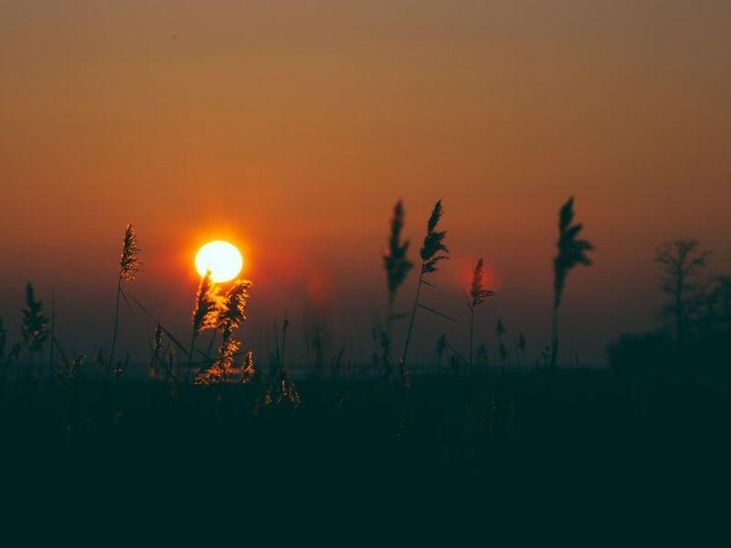 Lever soleil plage Croix des Marins
