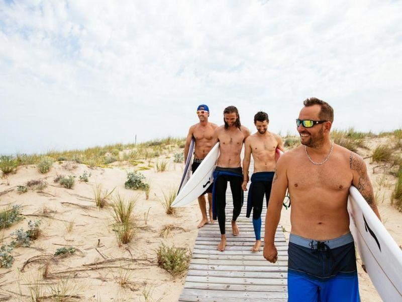 Surf plage du Truc Vert